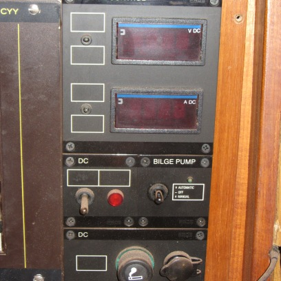 Oude accu-monitor