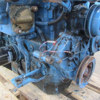 Motor voor revisie